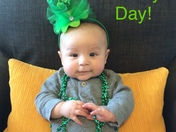 Baby's first St. Patty's Day