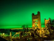 St. Patricks Day Sky over Tower Bridge