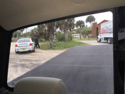 New Smyrna standoff don't know what happened lots of heavily armed police have b