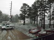 Hail in Eureka Springs