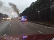 I-20 Big Rig Fire