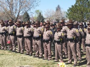 Funeral for Navajo Police Officer