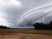 Front moving in
