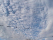 More clouds from yesterday.