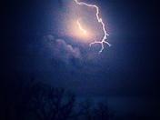 another lightning strike