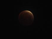 Blood Moon Total Lunar Eclipse from NE Albuquerque
