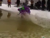 Grape Suit Smugglers Notch Skimming