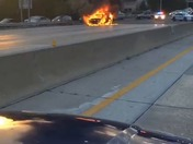Fairbanks curve car fire