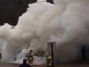 Car fire Bethel park off rt 88