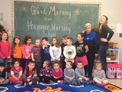 Hanover Nursery says good morning!