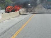 Car Fire Westbound 470