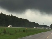 Funnel cloud over Ponchatoula