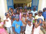Boston Strong at Be Like Brit Orphanage in Grand Goave Haiti