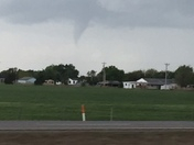 Tornado or water spout? House divided
