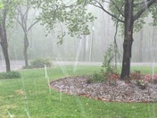 Hail storm in Pickens, SC