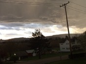 Storm and hail in uniontown
