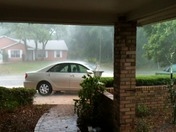 High Gusts and Downpour hits F Section of Palm Coast today