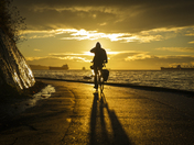 Cycling the Seawall