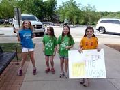 Girls on the Run raise money for the Greenville Humane Society