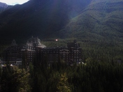 Banff Springs Hotel Basking in the Sun