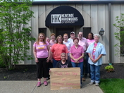 Heritage Hardwoods Annual Pink Out 2015
