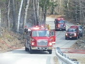 Jeffrey F.D. BRUSH FIRE AT GILMORE POND