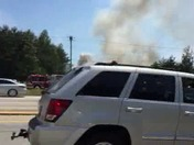 Fire on hwy 123 and white horse road