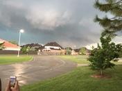 Tornado over north Norman
