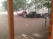 flooding into our home