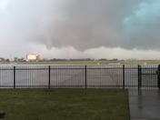 Tornado footage from max westheimer airport