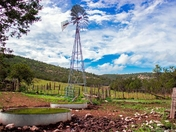 Windmill near Ruidoso