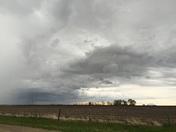 Storm clouds in Lancaster Kansas