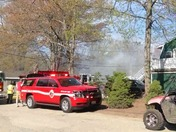 House fire in Collettes Grove Derry NH....Home Of Stephanie Rose and family