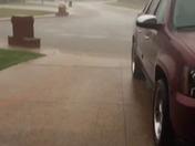 rain and thunder and lightning
