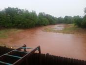 Flooding creek