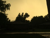 Blackwell skies ... Now both pics taken same time one towards the west other to