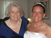 Me and My Mom on my Wedding Day 09/25/09