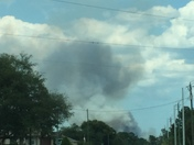 Forest Fire in Deltona