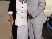 Joseph Daughtry & his Mother Lovie Sanders