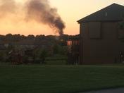 house fire near 151st & Quivira