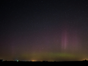 Northern Lights across central Iowa