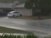 Storm Drain/Manhole overflowing