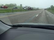 multi car accident