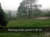 Raining in 84