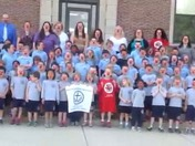 Saint Agnes School Arlington Ma celebrates Red Nose Day