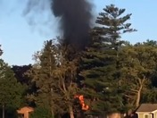 Waterford house fire video