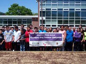 Wareham Middle School STEAM Academy Cranberry Bog Outdoor Classroom