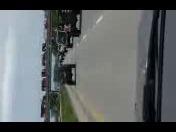 honor flag motorcade