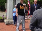 WWII Veteran delivers Memorial Day Speech