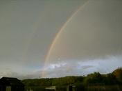 Rainbow along the river